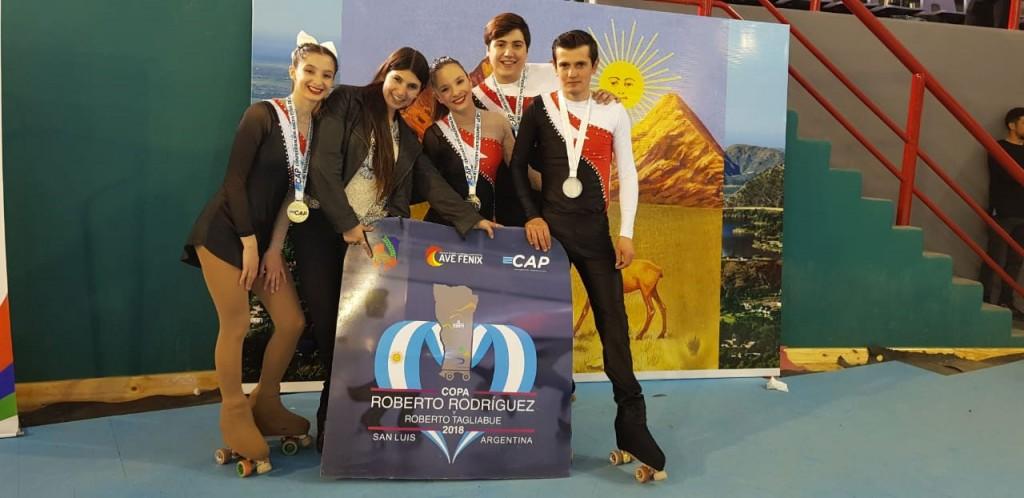 Patín: Sueño sobre Ruedas volvió de San Luis con Campeones y Subcampeones Nacionales
