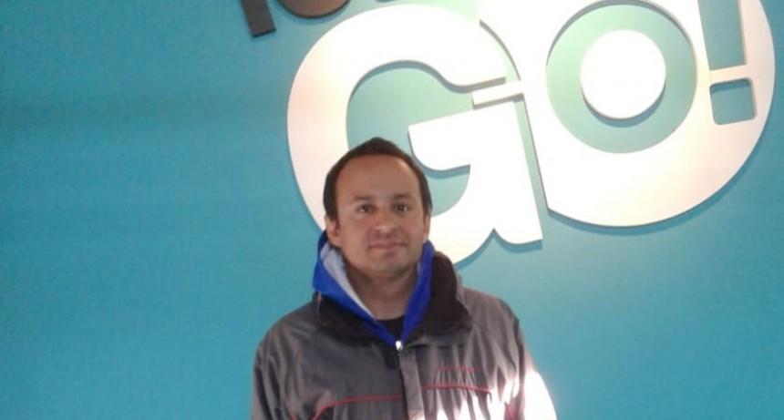 """Lucas García; Gimnasio Let´s Go; """"Acá viene mucha gente que quiere mejorar su calidad de vida"""""""