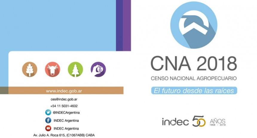 Informe Oficial; Ministerio de Economía: Censo Nacional Agropecuario