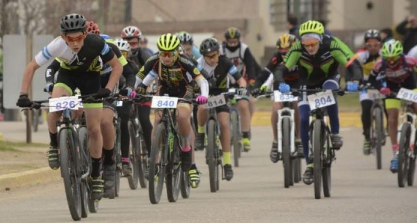 La escuelita de ciclismo corrió en el Sierra Rally Bike