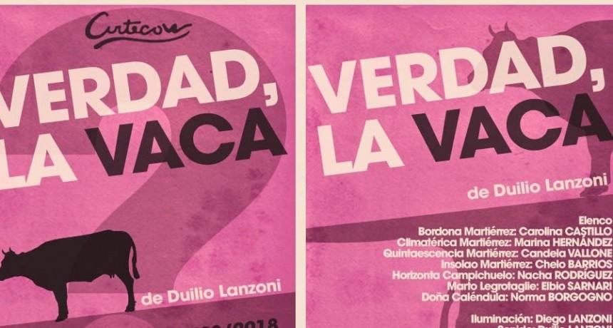 Estrena en Artecon la comedia 'Verdad La Vaca' de Duilio Lanzoni
