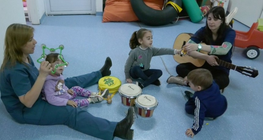 El equipo del CRIB presentará un trabajo de musicoterapia en La Plata