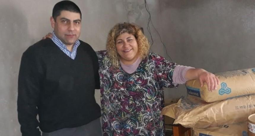 La cooperativa Obrera realizó una importante donación al comedor Encuentro de Amor