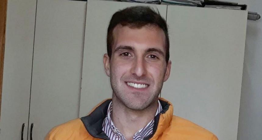 El agrimensor Gabriel Mocciaro se afianza en la ciudad