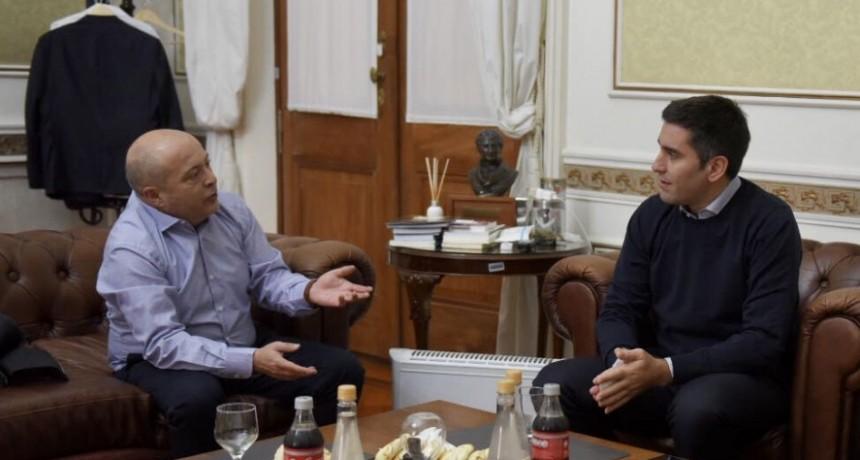 Mosca se reunió con Atilio Franco por la construcción del nuevo juzgado