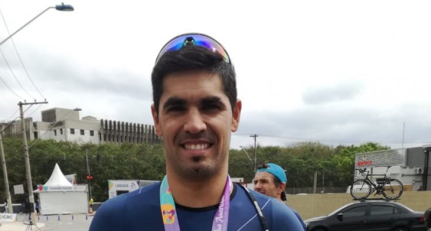 Ciclismo: Juani Vicente obtuvo excelentes resultados en la copa Panamericana de San Pablo