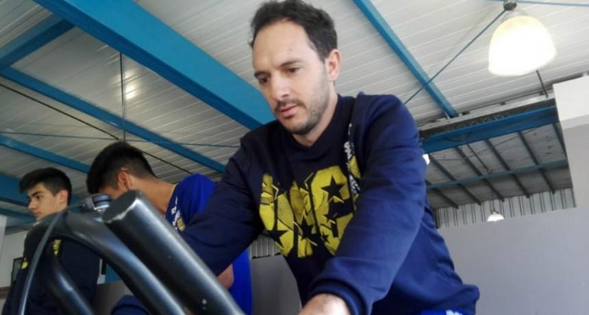 Sebastián Garrocq encara su 10ª temporada en UPCN: 'Nunca pensé en llegar hasta acá'
