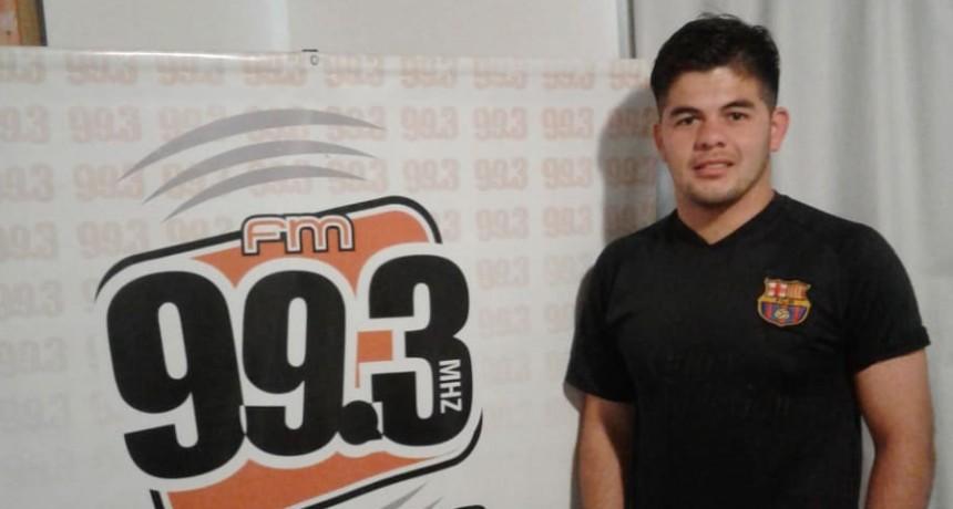 Cristian Britez; CAU: 'Yo soy muy autocritico y sé que puedo dar más'