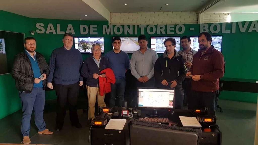 La Cámara Comercial visitó el Centro de Monitoreo