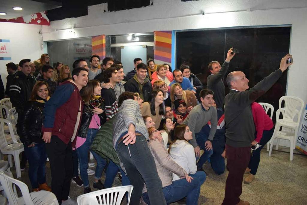 Erreca y Criado presentaron el programa 'Bolívar Joven'
