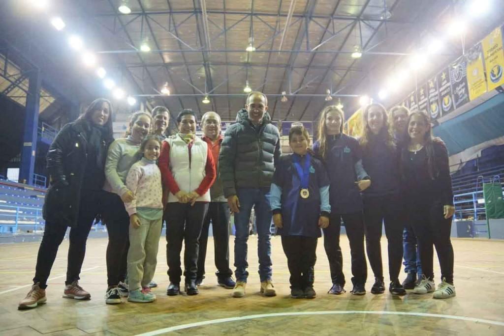 El Intendente Pisano recibió a los gimnastas que compitieron en EE.UU