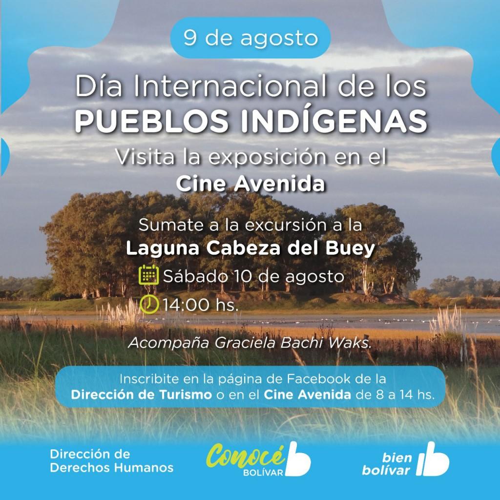 La Municipalidad organiza actividades por el Día Internacional de los Pueblos Indígena
