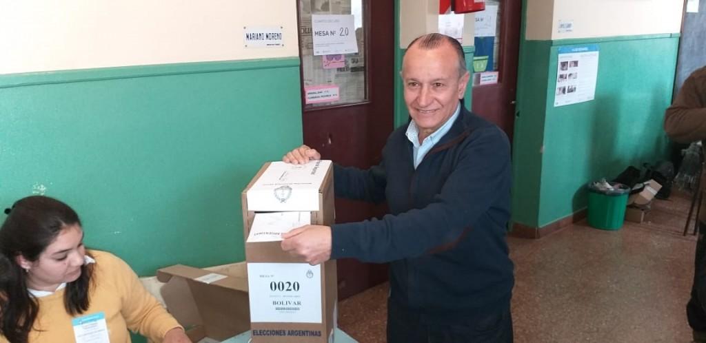 Ricardo Criado:'Disfruto mucho de cada elección y siempre acompañado por mis hijos'