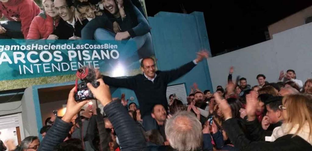 Marcos Pisano: 'Este triunfo nos ratifica el rumbo y nos permite continuar por este camino de hacer las cosas bien para todos los vecinos'