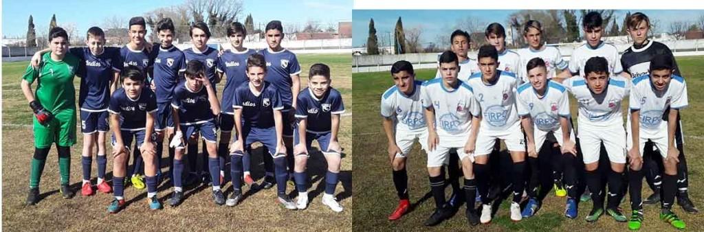 Las selecciones SUB 13 y SUB 15 debutaron ante Olavarría en el Estadio Municipal