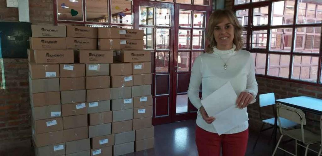 Instituciones educativas de la ciudad recibieron kits de robótica