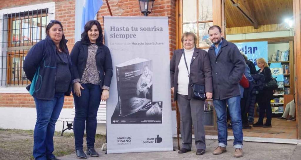 Se presentó el libro del Soldado Horacio Echave en Lobos