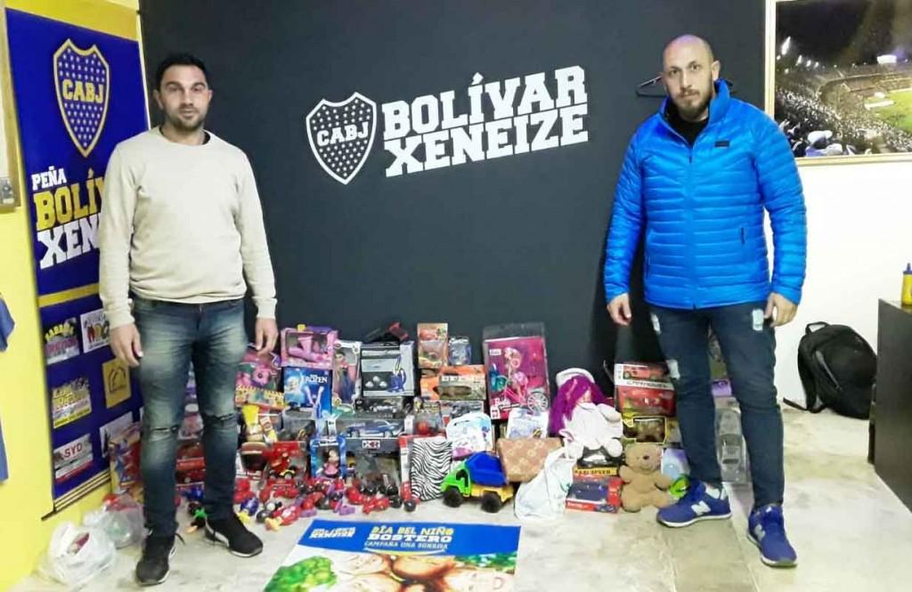 La Peña Bolívar Xeneize lanzó una nueva campaña solidaria para el Dia del Niño