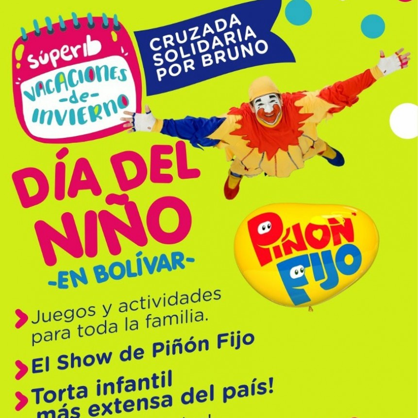 Cruzada por Bruno: Bolívar se prepara para celebrar el Día del Niño
