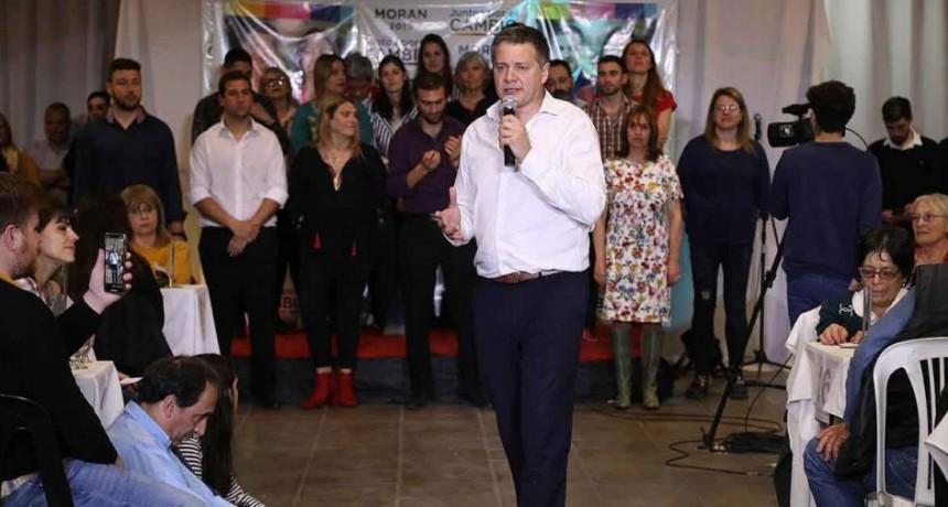 Juan Carlos Morán realizo el cierre de Campaña con más de 550 personas en Villa Juana
