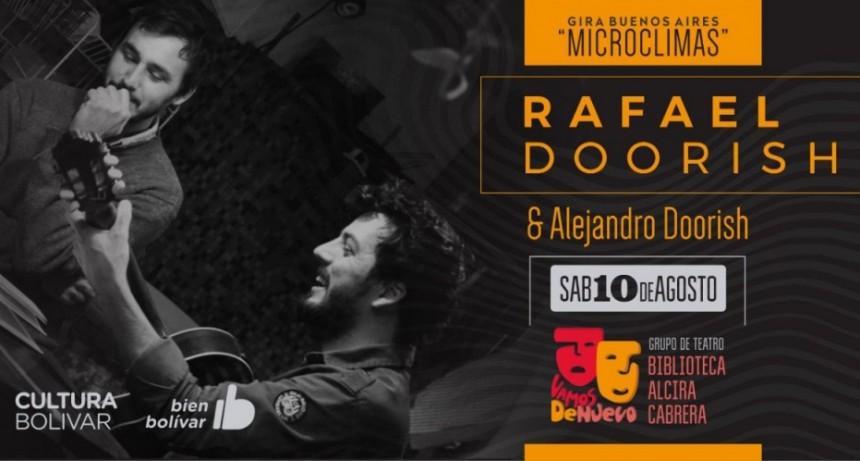 Rafa Doorish se presentará en la Biblioteca Alcira Cabrera