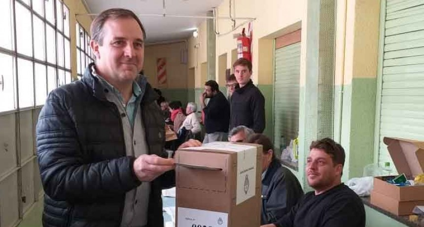 José Gabriel Erreca: 'La tranquilidad de estas elecciones demuestra que estamos aprendiendo'