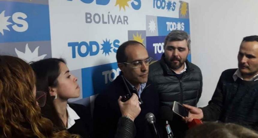 PASO 2019: Marcos Pisano se impuso con contundencia en Bolívar