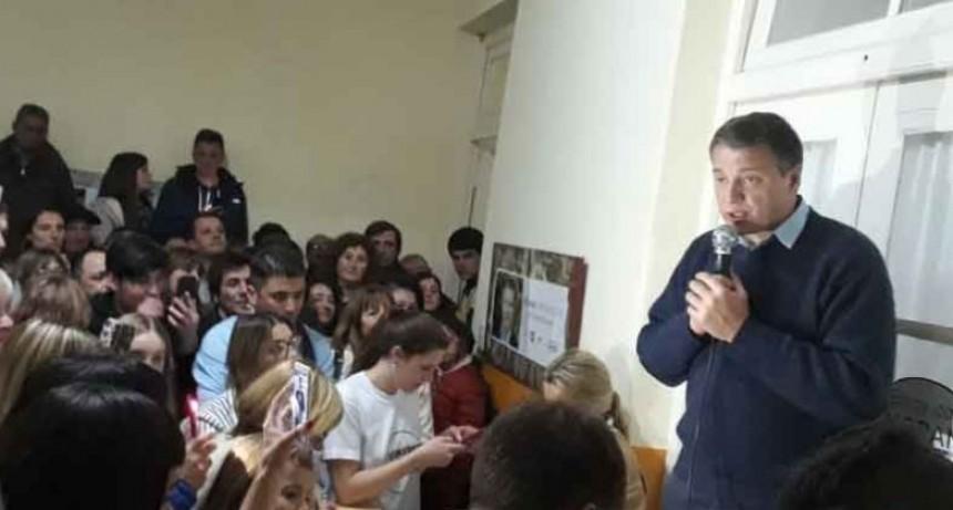 Juan Carlos Moran: 'Los convocó a trabajar para que el 10 de diciembre entremos triunfantes a la municipalidad'