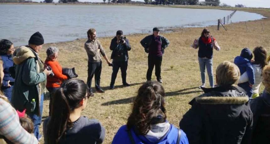 La Municipalidad realizó una salida turística a Laguna Cabeza del Buey