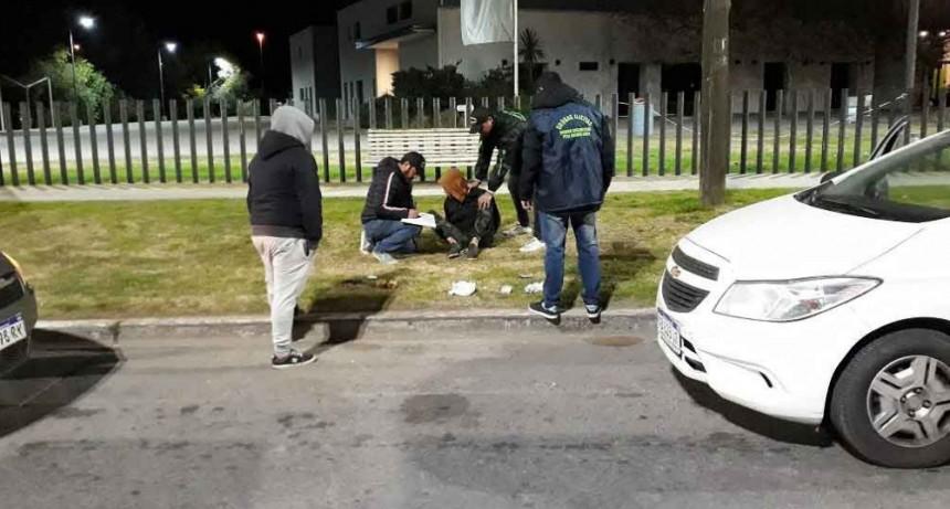Carlos Casares: Se hizo efectiva la detención de un masculino que portaba una gran cantidad de estupefacientes