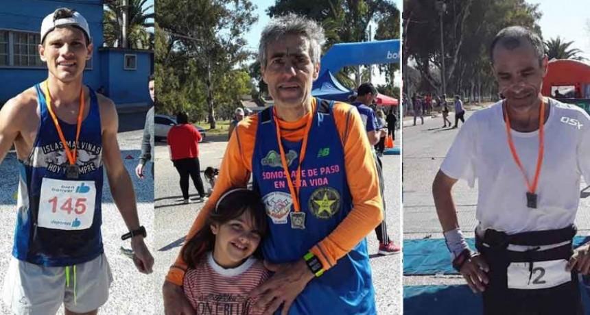Magallanes, Ossola y Malgioglio fueron los ganadores de la Ultra Maratón