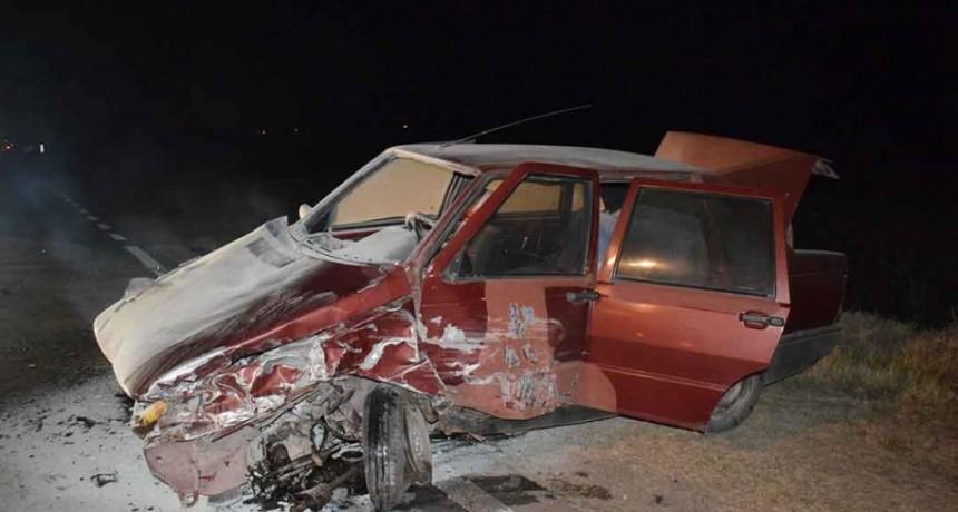 Alvear: Grave accidente en el acceso a la ciudad
