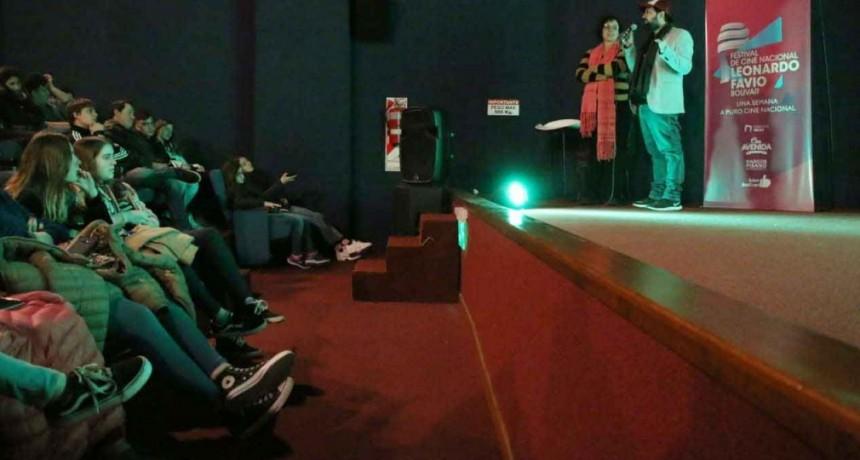 Escuelas secundarias participaron del Festival de Cine Nacional Leonardo Favio