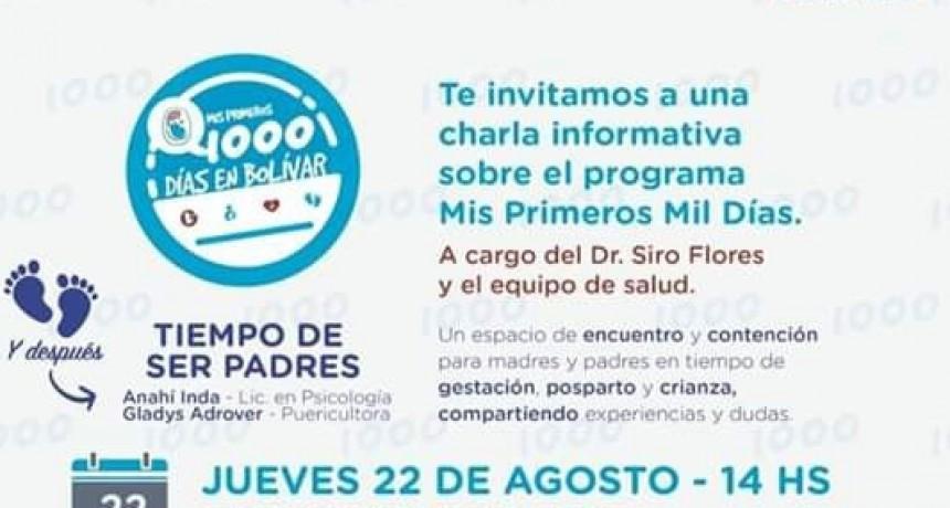 El programa Mis Primeros Mil Días se presentará en Hale