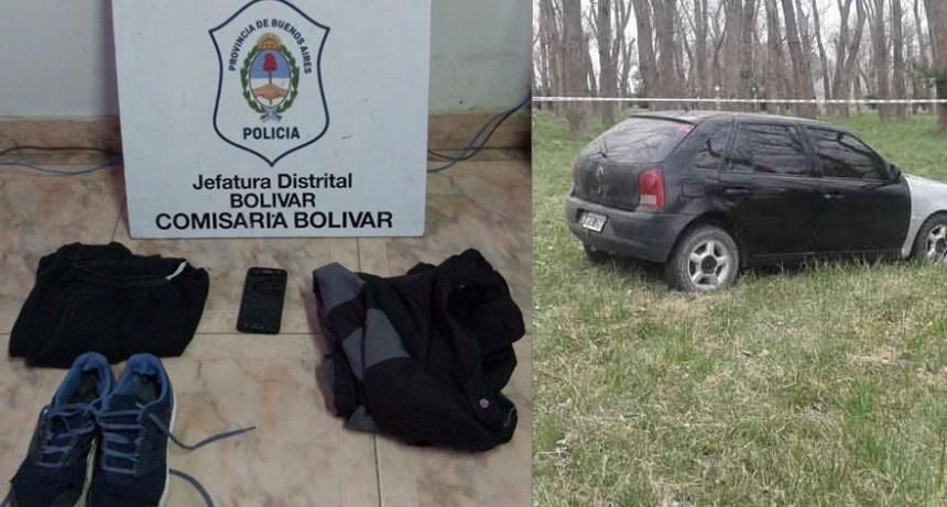 Se detuvo a un joven de 22 años implicado en el robo de un vehículo ocurrido el pasado fin de semana