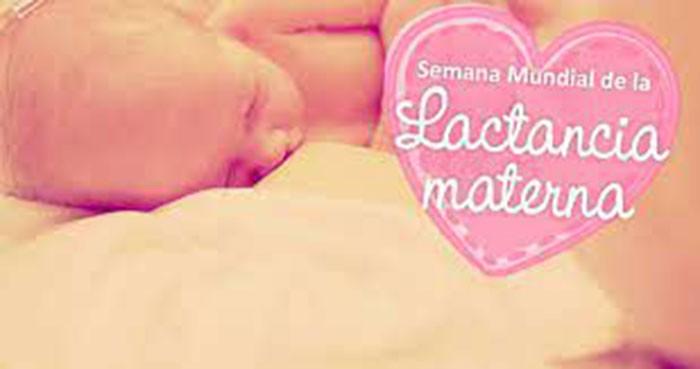 Del 1 al 7 de agosto; Semana de la Lactancia Materna
