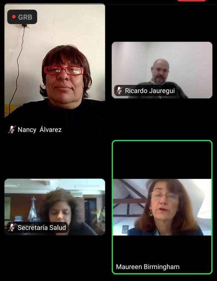 Adultos Mayores participó del seminario internacional sobre Personas Mayores y COVID-19