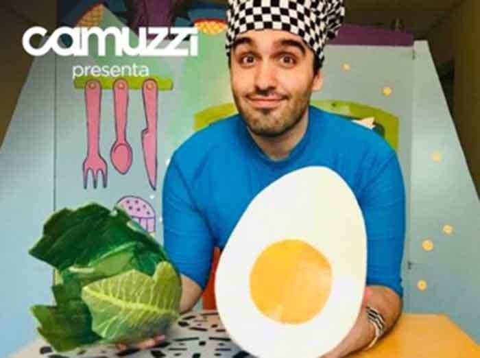 Este viernes a las 16.30 Camuzzi presenta el espectáculo Cocina conmigo; especial Día del Niño