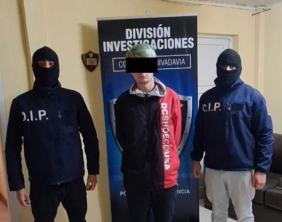 Detienen a un bolivarense por narcotráfico en Chubut