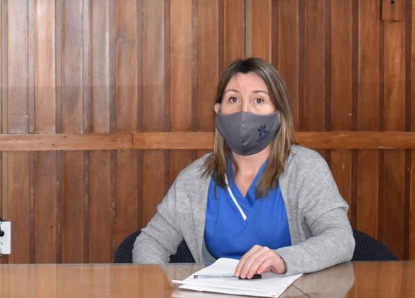 Cristina Sierra; 'El trabajo de aislamiento esta hecho solo resta esperar y en este sentido agradecemos a la comunidad que se ha puesto a disposición del sistema de salud'
