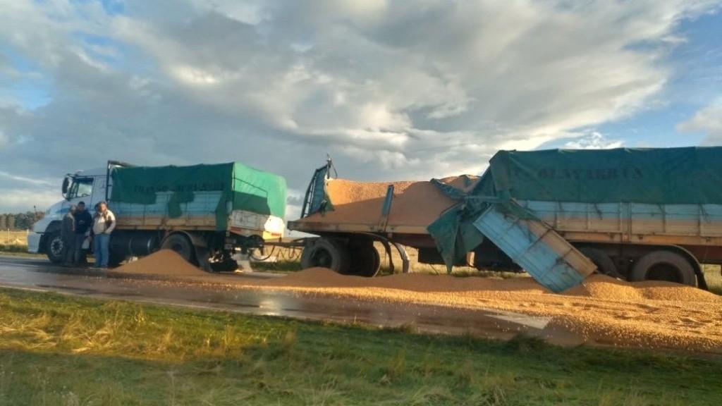Se recupera el camionero accidentado en Bahía Blanca