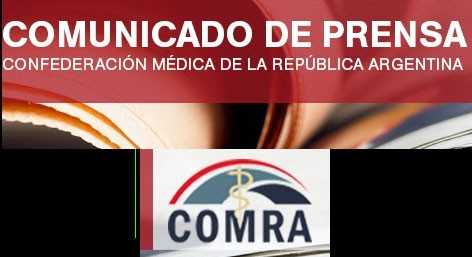 Comunicado de Prensa COMRA; Mensaje de los médicos a la comunidad
