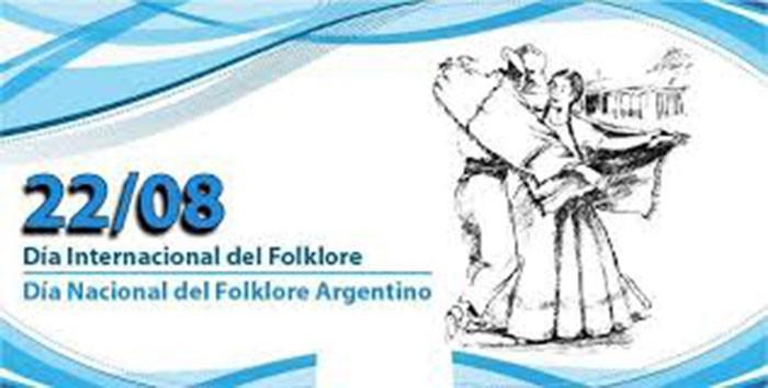 Día mundial del folklore y día del folklore argentino