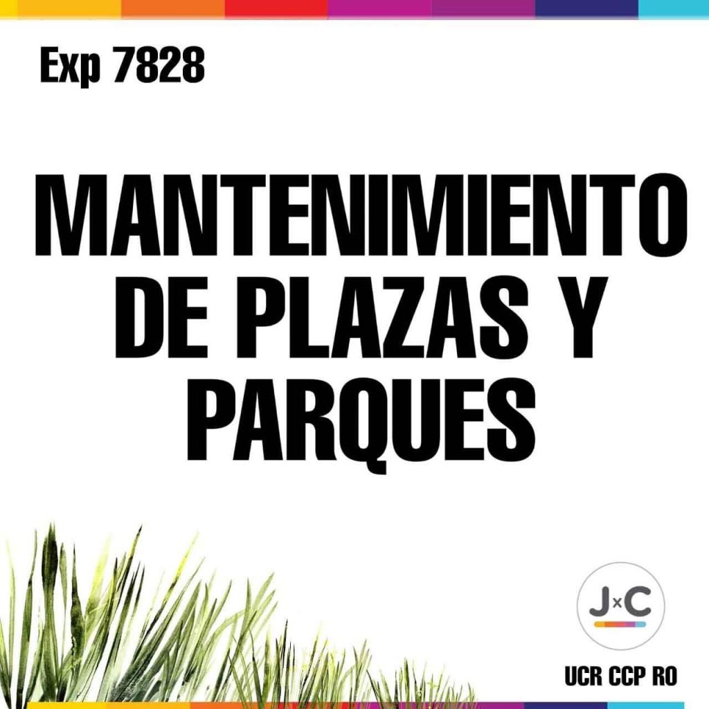JXC pide que se retomen las tareas de mantenimiento de los espacios verdes de la ciudad