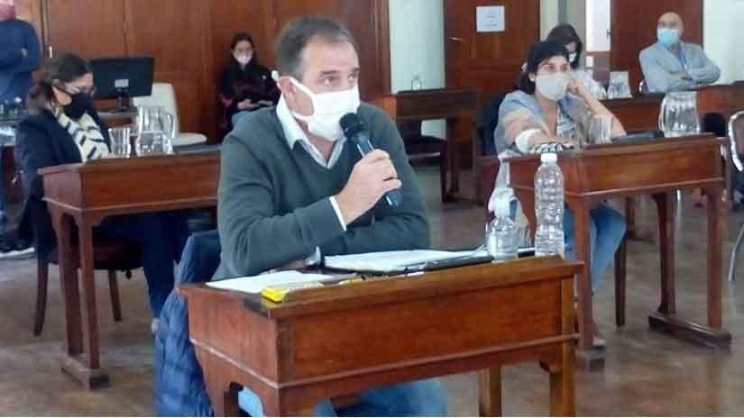 José Erreca pide por más seguridad y patrullaje en Bolívar