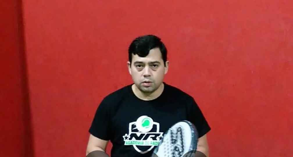 Nicolás Ruiz; 'Por suerte el pádel sigue creciendo y se está haciendo un deporte mucho más popular'