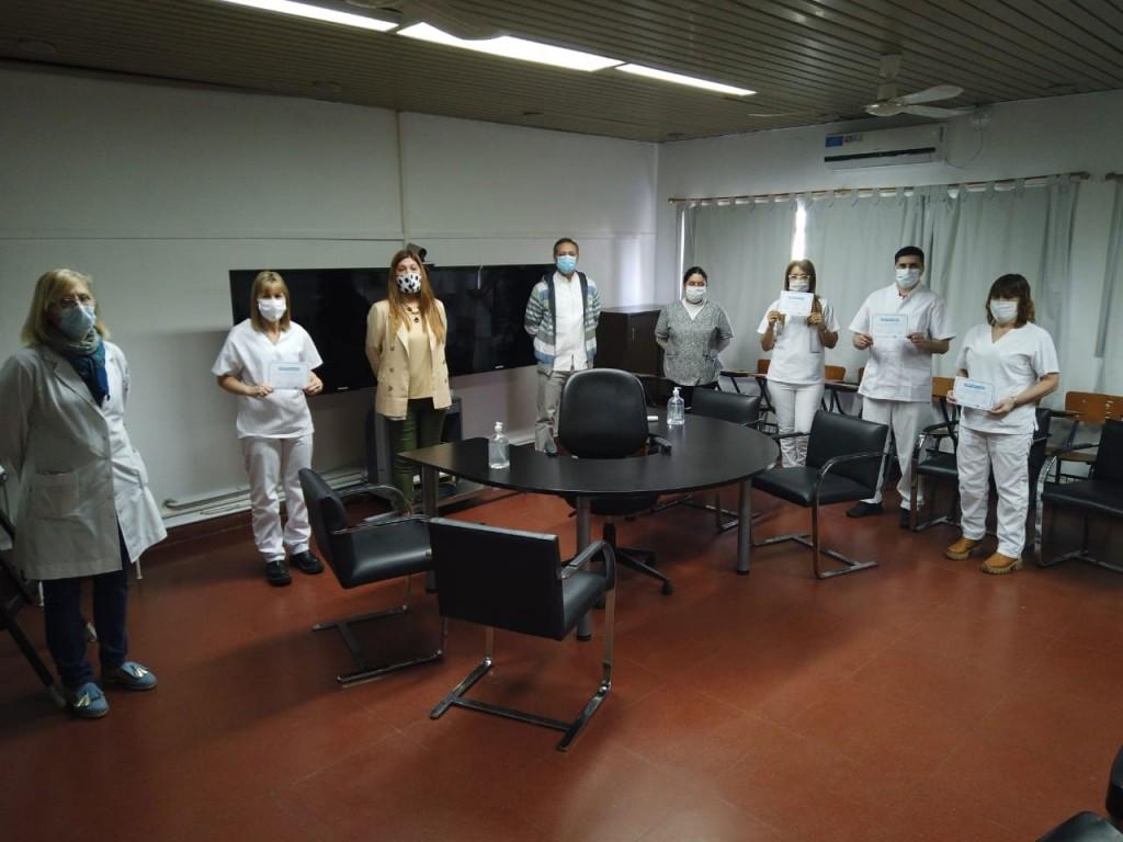 Personal de enfermería del hospital municipal finalizó la capacitación sobre enfermería psiquiátrica