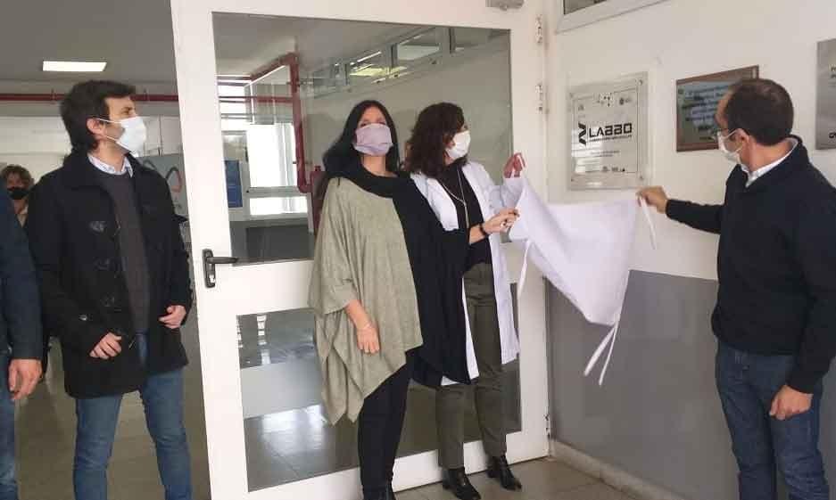 Pisano inauguró el Laboratorio de Biología Molecular Bolívar para análisis de COVID 19