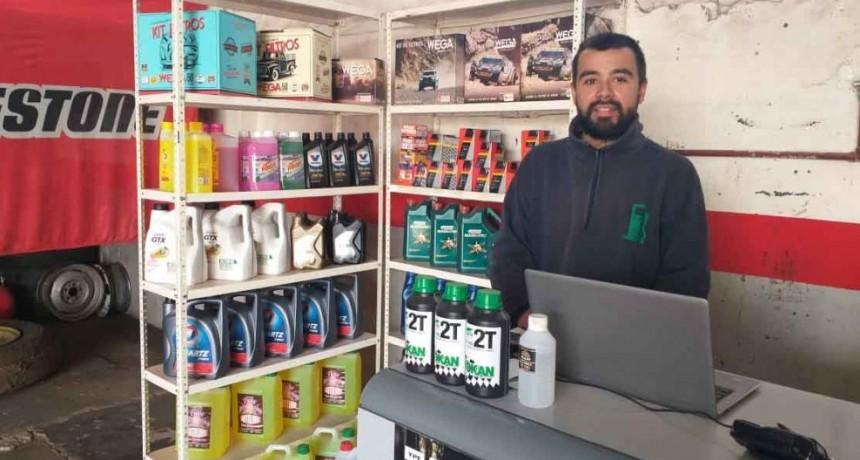 Neumáticos Alberti incorporó servicio de lubricentro
