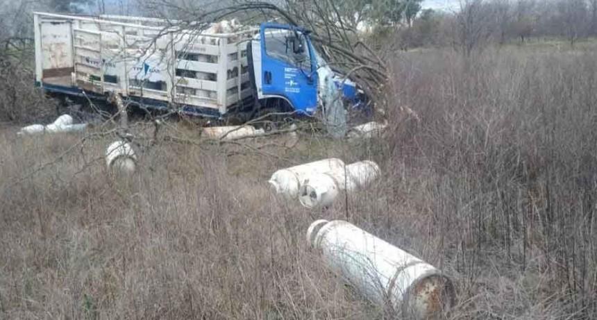 Accidente sobre Ruta N° 51, entre Gral. Alvear y Saladillo